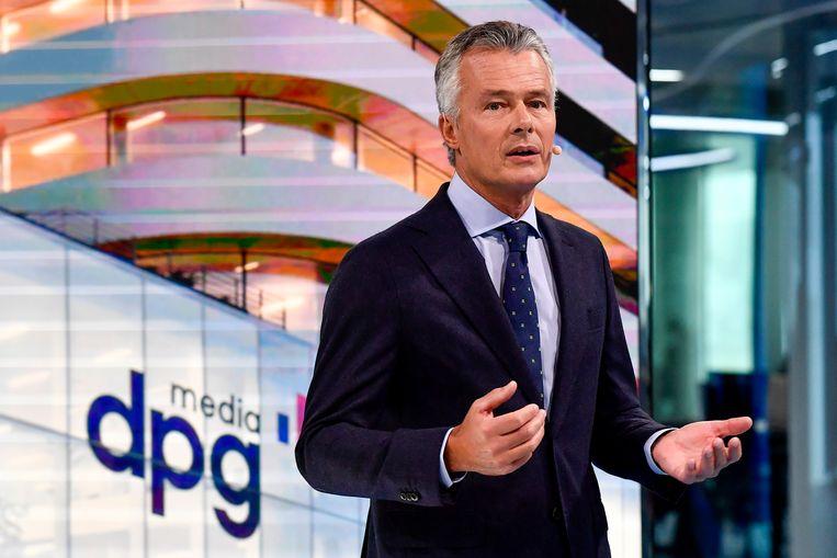 Christian Van Thillo, Executive Chairman van DPG Media. Beeld BELGA