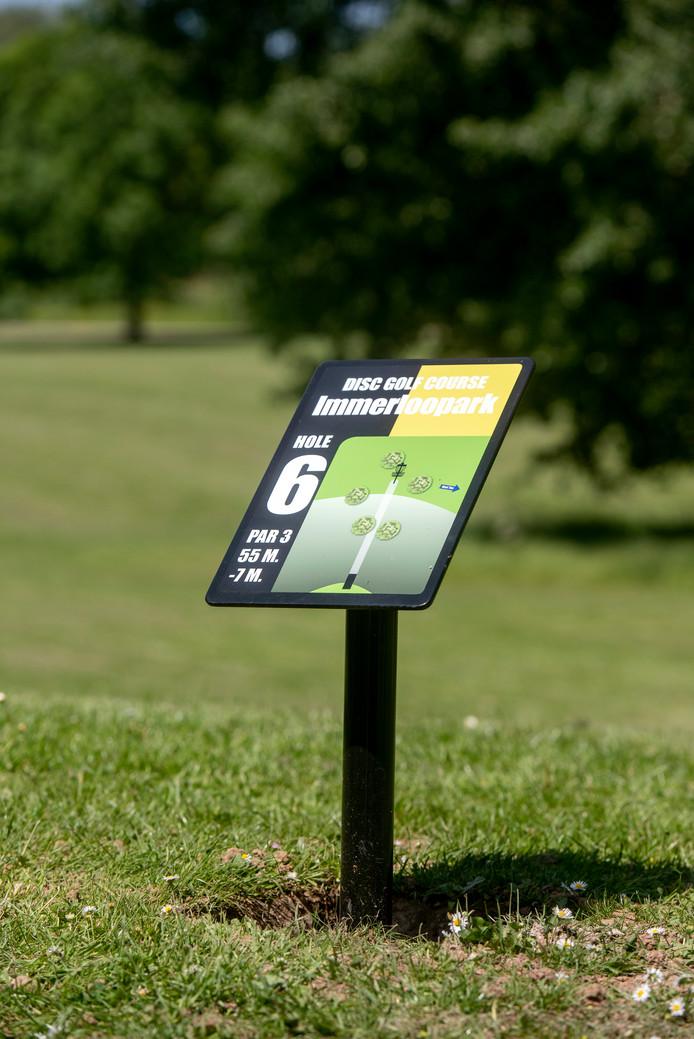 In Park Immerloo in Arnhem opent het 18 holes Disc Golf Course van het Sportimpuls project DISCover Airborn