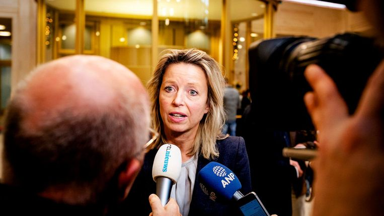 Minister Kajsa Ollongren van Binnenlandse Zaken heeft de intrekkingswet woensdag naar de Tweede Kamer gestuurd. Beeld anp