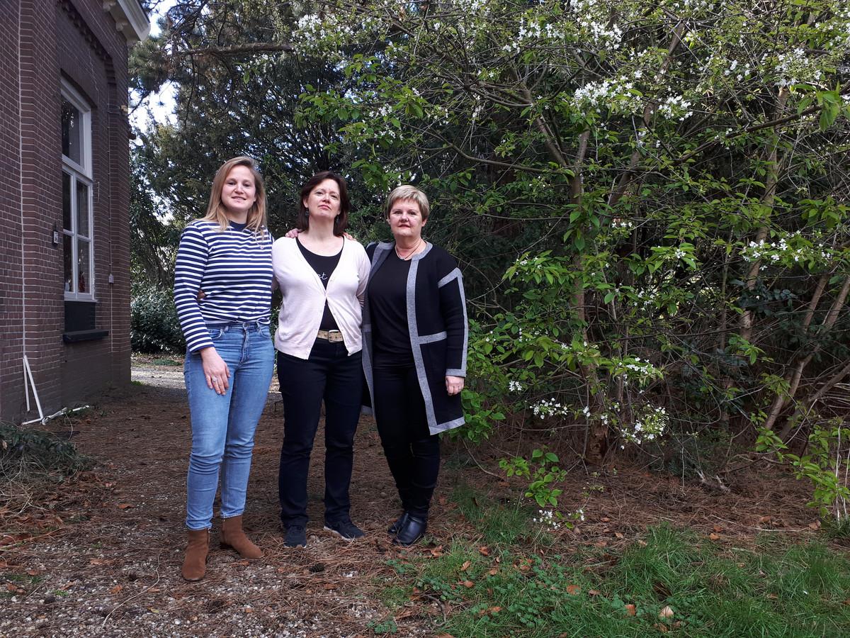 Warnyta Minnaard, Francine van der Heijden en Annemarie van Uden (v.l.n.r.) verloren hun dierbaren en richtten Missie Tumor Onbekend op.