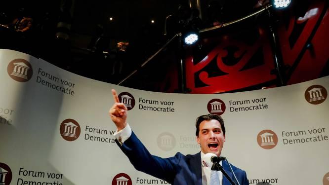 """Spectaculaire doorbraak voor rechts-populistische partij FvD in Nederland: """"'Stupiditeit' van 'onbenul' Mark Rutte is afgestraft"""""""