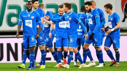 VIDEO. Centrale verdedigers doen het voor Gent tegen tien Eupen-spelers, Buffalo's doen wel een zaakje in het klassement