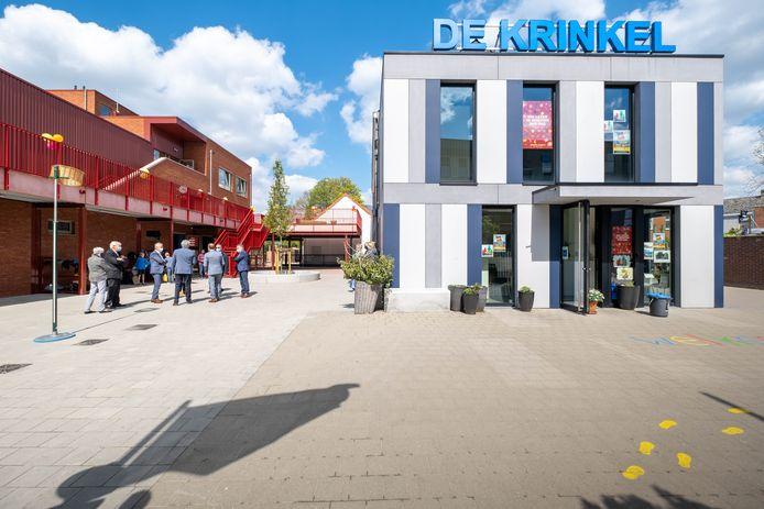 De nieuwe schoolgebouwen van de Krinkel.