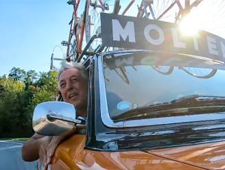 Wielerlegende Eddy Planckaert supportert voor Andy en Dina in 'Ze Zeggen Dat'