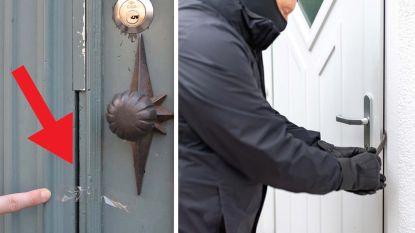 Inbrekers gebruiken nieuwe truc om te weten of u thuis bent