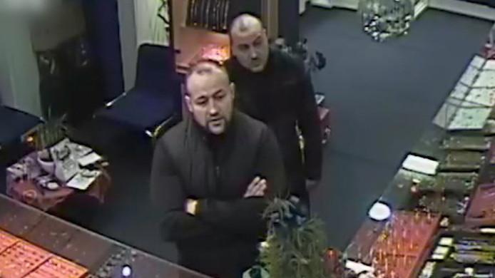 Overval juwelier Khemai Paul Krugerlaan Den Haag verdachten