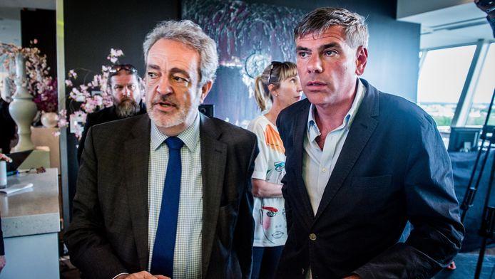Gerolf Annemans en Filip Dewinter.
