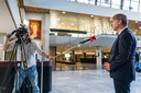 Schaart Eric de Bie, de enig overgebleven FVD-bestuurder in Brabant, zich achter Thierry Baudet?