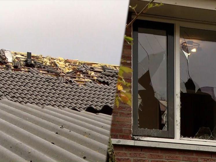 Windhoos richt enorme ravage aan in Nederland