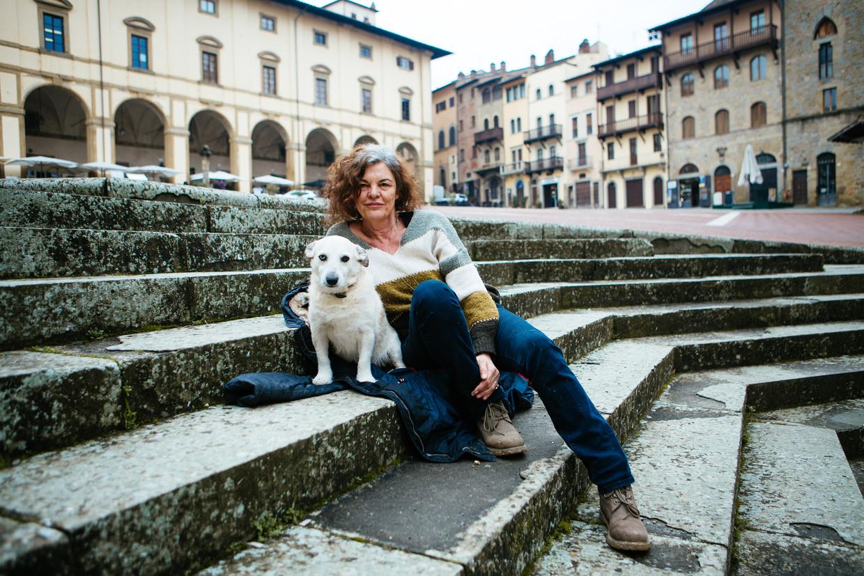 Hilde Van Mieghem: 'Mensen met onverwerkte trauma's zoeken steeds weer de vertrouwde, slechte situaties uit hun jeugd op.' Beeld Adele Costantini