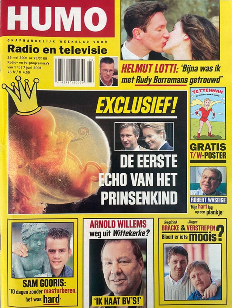 Humo cover juni 2001 Beeld Humo
