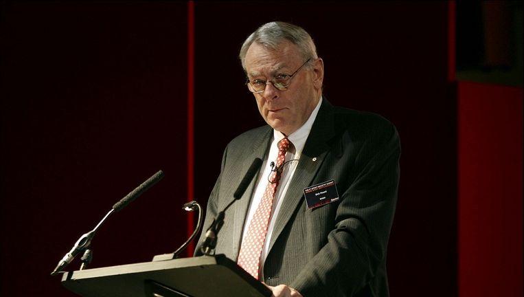 Ex-WADA-voorzitter Dick Pound zal een sleutelrol vervullen binnen de onderzoekscommissie naar de wanpraktijken in Rusland Beeld Photonews