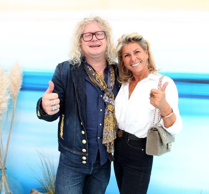 Pierre-Jean Chalençon et Caroline Margeridon en 2019.