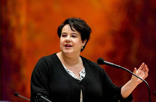 Staatssecretaris Sharon Dijksma Infrastructuur en Milieu.