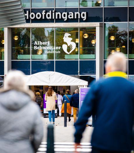 Albert Schweitzer ziekenhuis in Dordrecht even zonder stroom