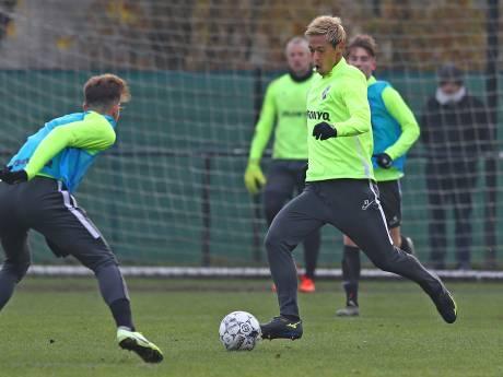 Honda krijgt sleutelrol bij Vitesse: Sloetski wil aanvallender spelen
