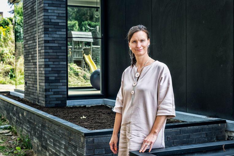 Liesbet Stevens: 'Elk jaar worden 150 vrouwen slachtoffer van potentieel dodelijk partnergeweld.' Beeld Tim Dirven