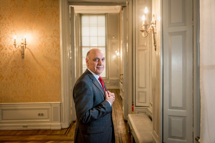 Tom de Bruijn toen hij in 2017 nog wethouder van Den Haag was.