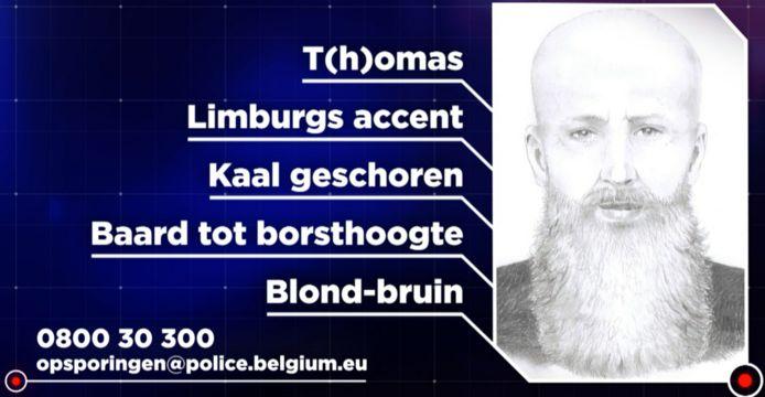 De politie is op zoek naar T(h)omas. Hij zou op 14 maart een vrouw uit Herent verkracht hebben. Faroek doet vanavond een oproep naar getuigen.