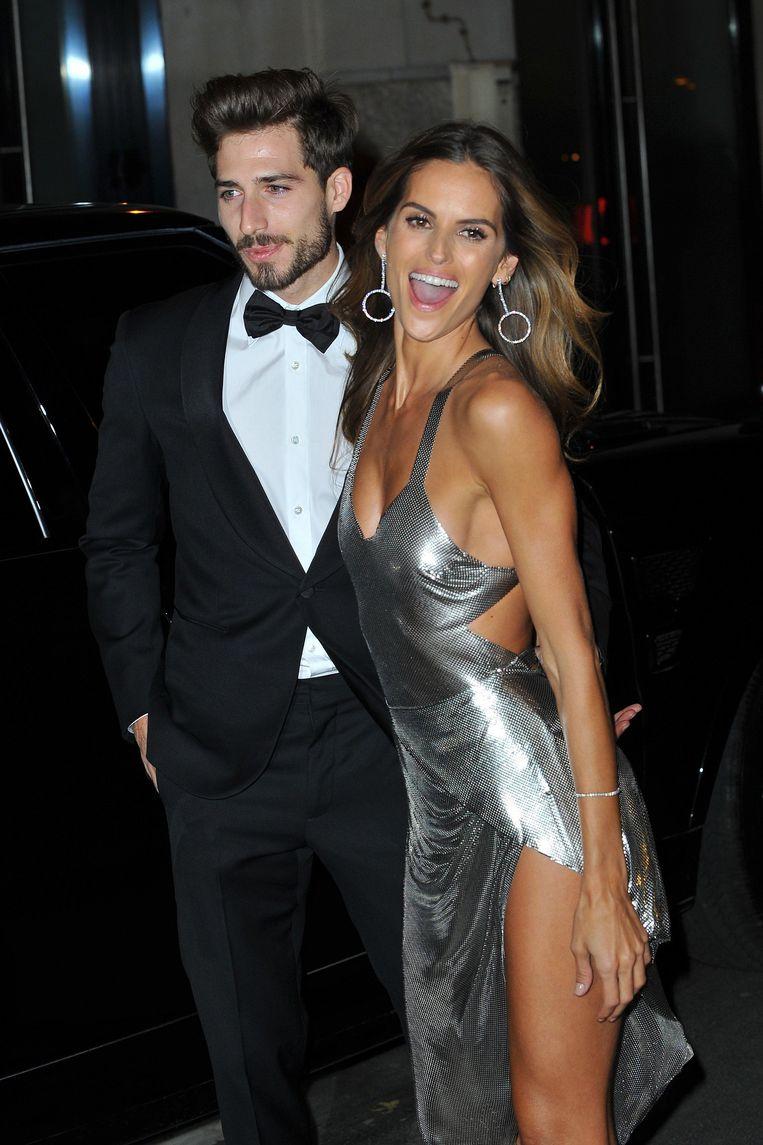 Kevin Trapp en zijn vriendin Izabel Goulart.