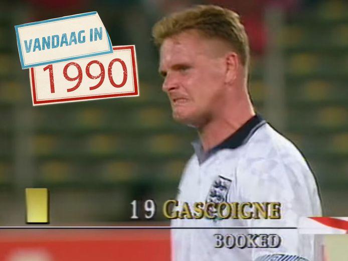 Paul Gascoigne.