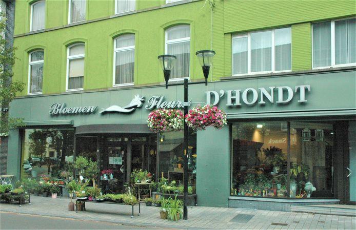 Bloemen D'Hondt in Ronse is genomineerd.