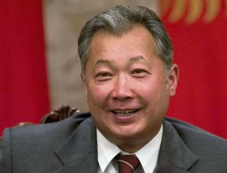 President Koermanbek Bakijev Beeld UNKNOWN