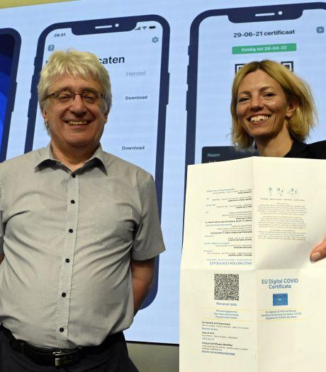 Le certificat Covid européen est disponible en Belgique dès aujourd'hui: ce qu'il faut savoir