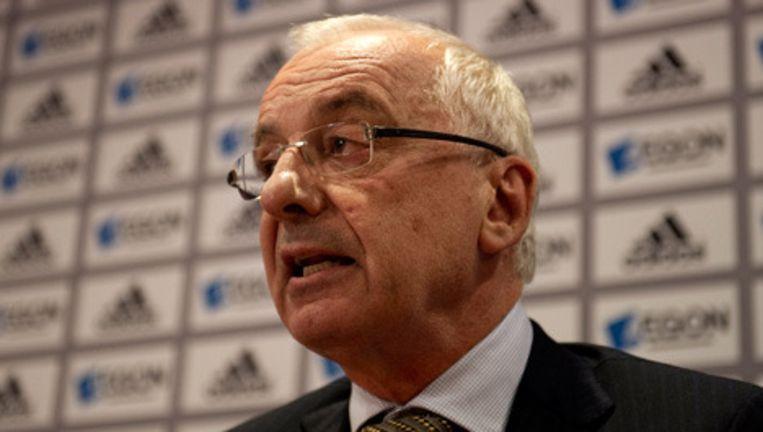 Ajax-voorzitter Uri Coronel © anp Beeld