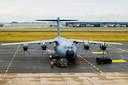 De nieuwe A400M-toestellen vervangen de C-130's.