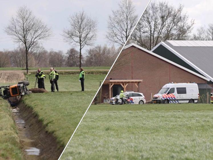 Noodlottig ongeval in een weiland in Dalfsen