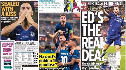 """Engeland wuift 'Gouden Bal' Hazard uit, Spanje smult al: """"Eindelijk gaat Real nog eens een galáctico kopen"""""""