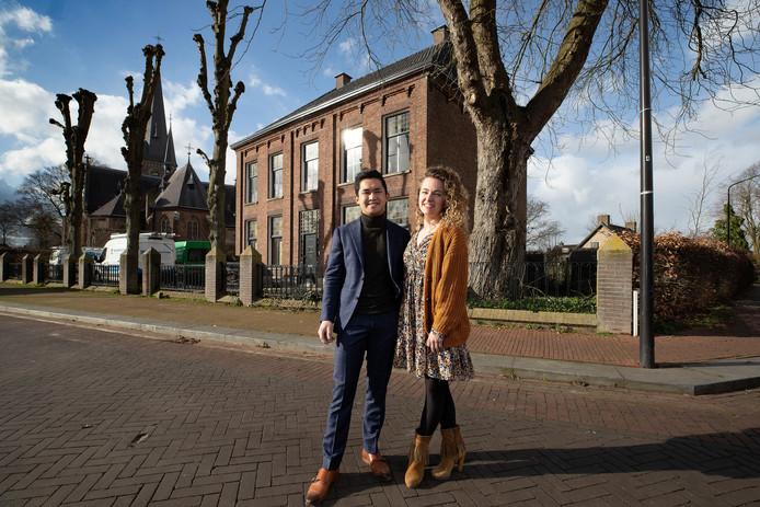 Nieuw hotel Lytel Blue in Riethoven met eigenaren Willeke Poeliejoe en John van Doorn.
