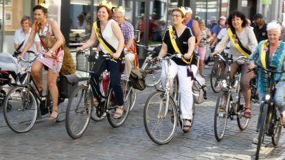 Eerste fietsstraat feestelijk ingereden