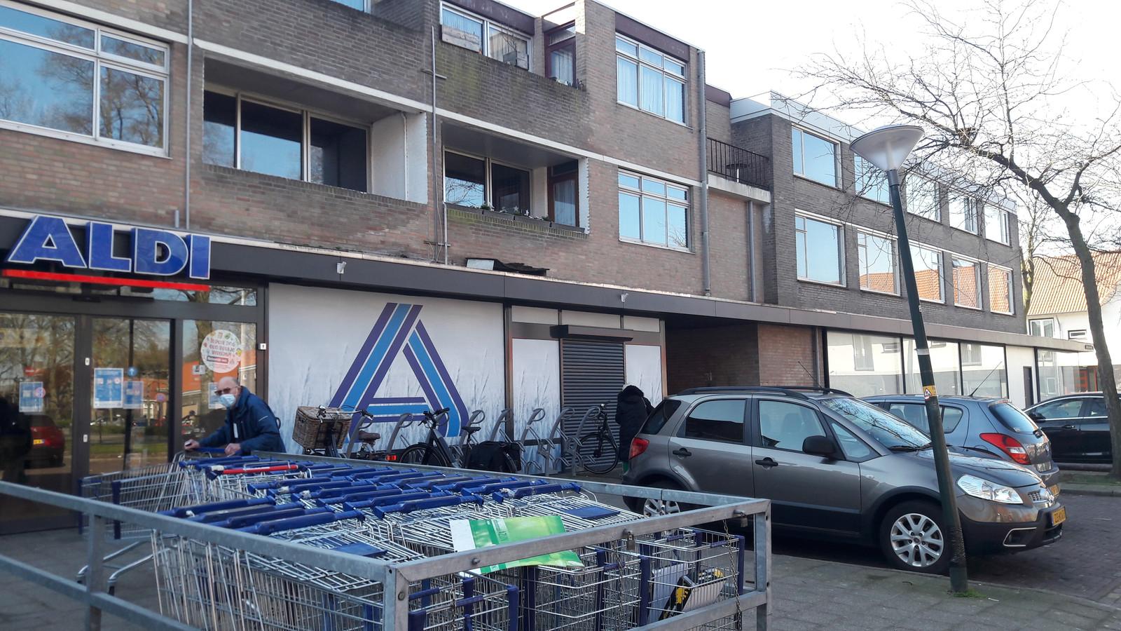 De Aldi aan het Jozefplein in Braakhuizen-Zuid