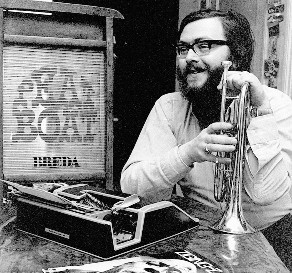 BREDA  - De Bredase jazzmuzikant, journalist en organisator Rob Cremer.