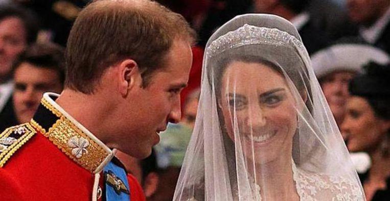 Lief: William en Kate delen persoonlijke gezinsvideo ter ere van jubileum Beeld ANP