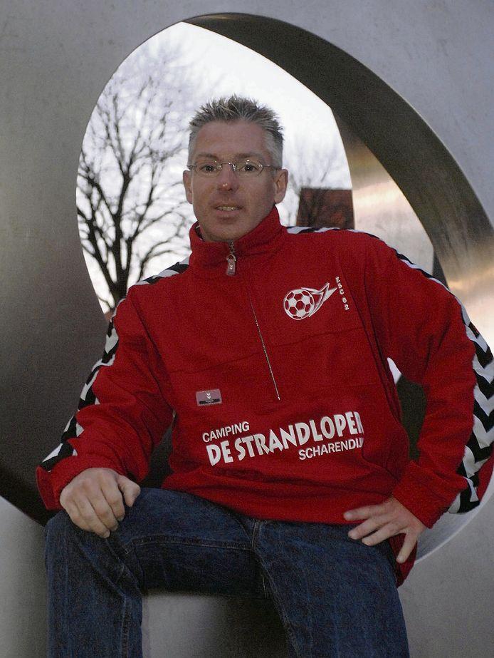 Rini Verwest in 2007 als trainer van ZSC'62.
