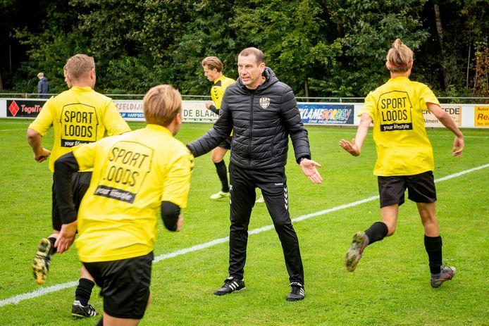 Donovan Tegelaar, trainer van Gorssel