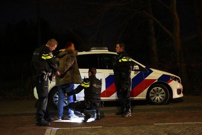 Man aangehouden in Vught die betrokken was bij conflict.