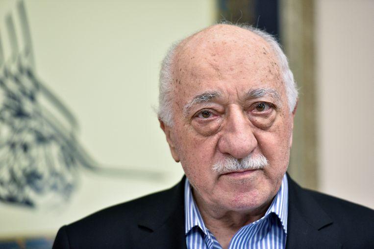 De prediker Fetullah Gülen verblijft nu in de VS. Beeld REUTERS
