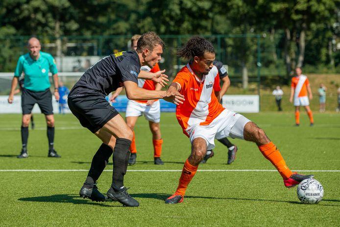 Baronie won in Nijmegen met 1-3 van SV Orion.