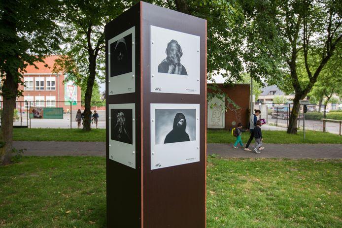 Een archiefbeeld van het internationaal fotofestival in Overpelt.