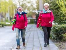 Jenny en Toos wandelen voor kanker door Oost-Nederland: Van Ziek naar Nooitgedacht