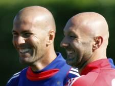 Zidane présent à l'entraînement des Bleus