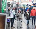 Ook de D66'ers gaan vooral de straat op.