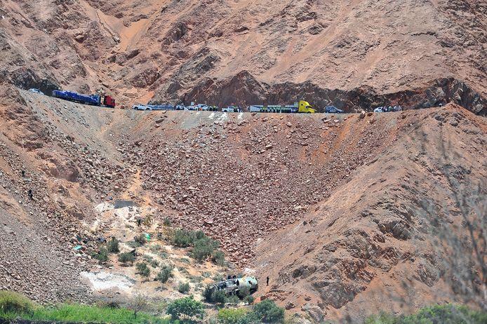 Volgens het ministerie van Verkeer zijn er tussen januari en november 2020 3526 verkeersongevallen geregistreerd op de Peruaanse wegen. (archiefbeeld)