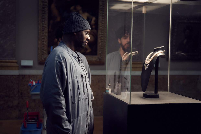 Omar Sy als Assane Diop in Lupin. Beeld Netflix