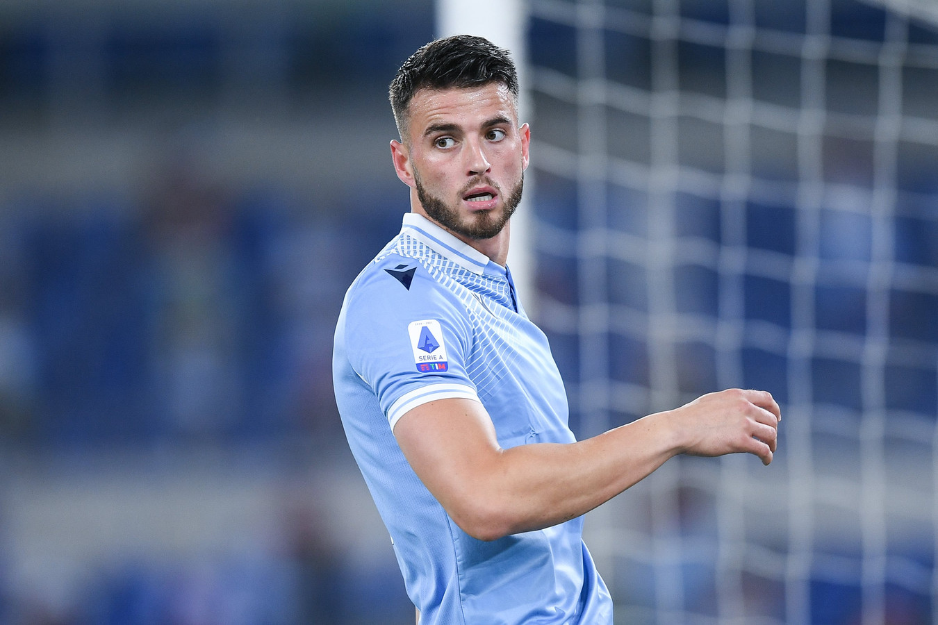 Wesley Hoedt kwam dit seizoen uit voor Lazio.