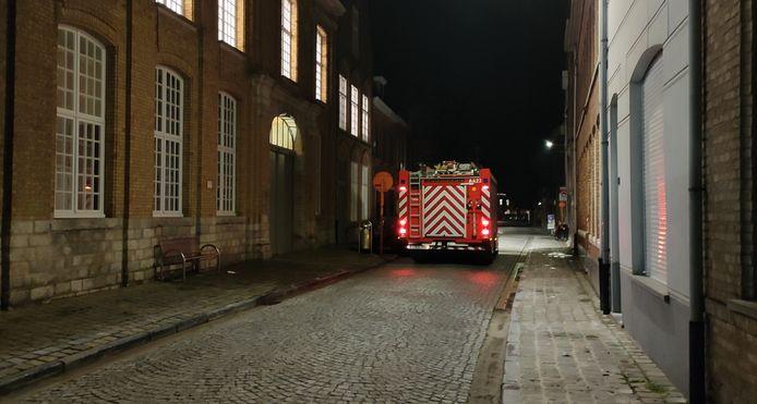 De brandweer kwam ter plaatse maar hoefde niet te blussen